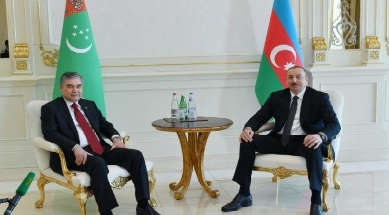 Qurbanqulu Berdiməhəmmədov, İlham Əliyev
