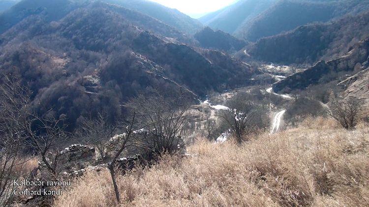 Kəlbəcər rayonunun Comərd kəndi