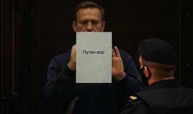 Aleksey Navalnı məhkəmədə