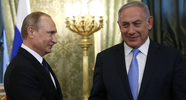 Vladimir Putin və Benyamin Netanyahu