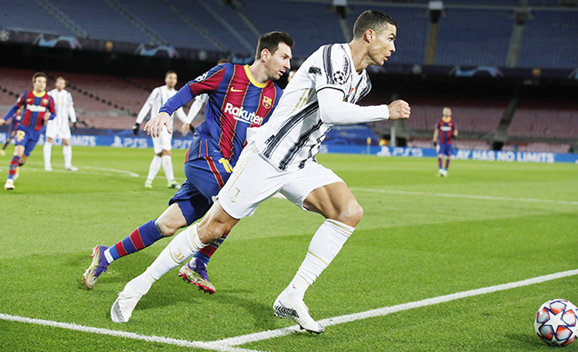 Champions League - Group G - FC Barcelona v Juventus