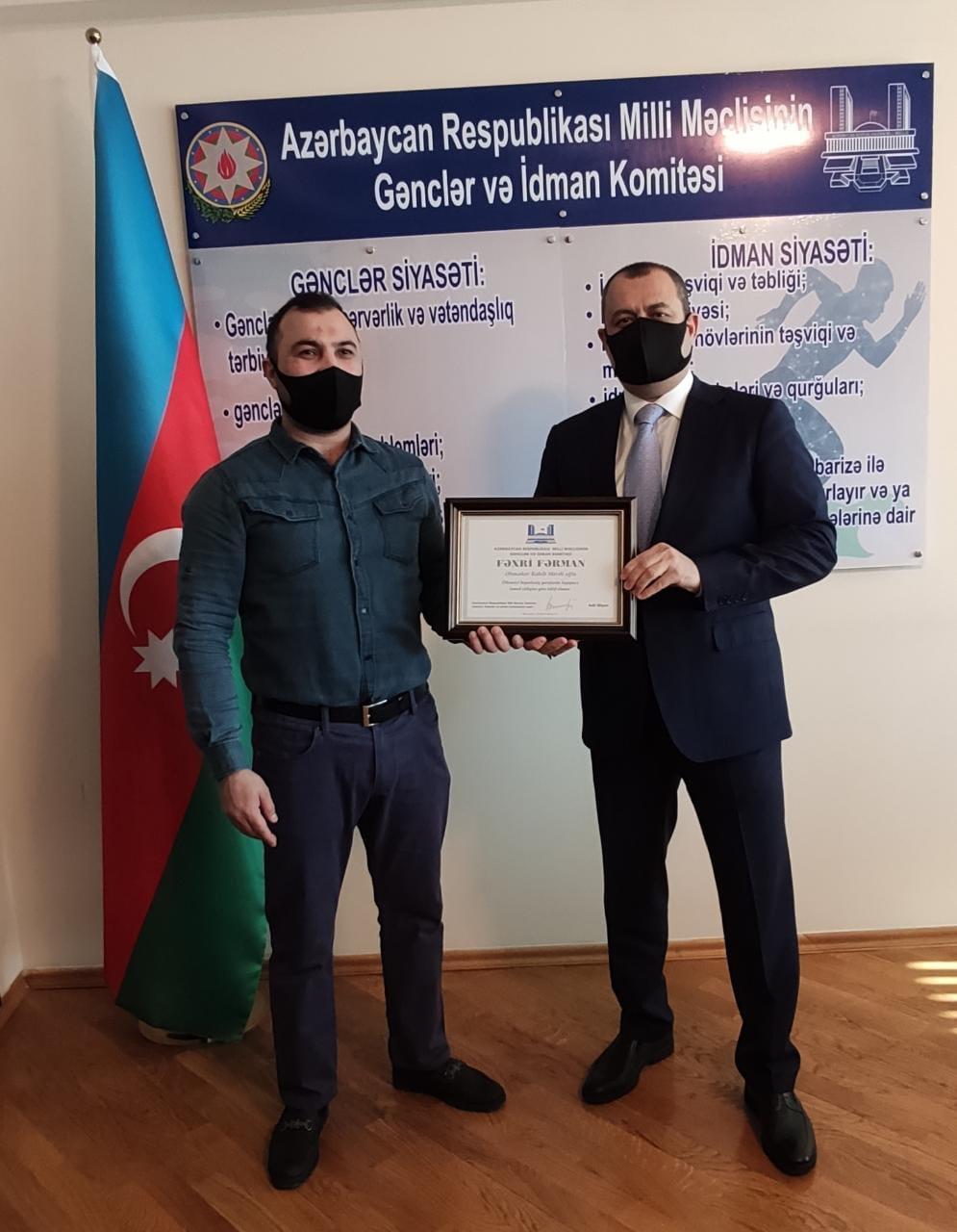 Milli Məclis Sədrinin müavini bir qrup Vətən müharibəsi iştirakçısı ilə görüşüb