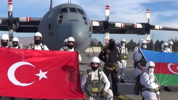Türkiyə və Azərbaycan hərbçilərinin birgə təlimi davam edir - Video