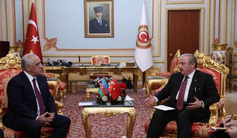 Əli Əsədov, Mustafa Şentop
