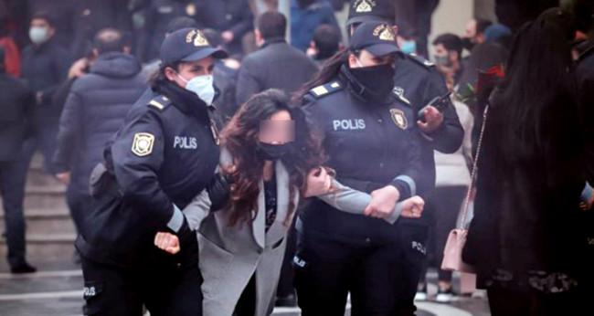 Bakıda feministlərin aksiyası, 8 mart 2021