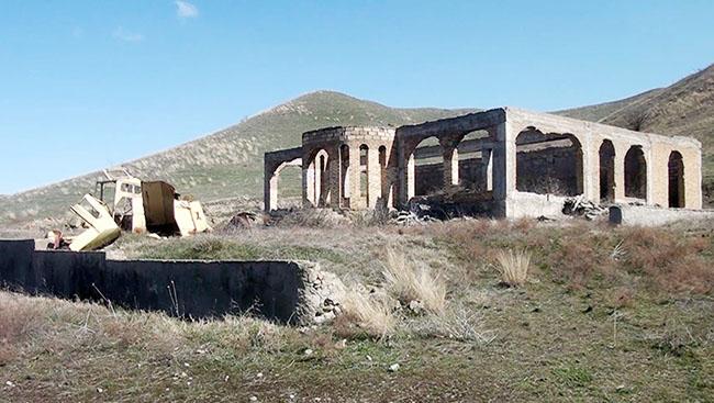 Cəbrayıl rayonunun Qumlaq kəndi
