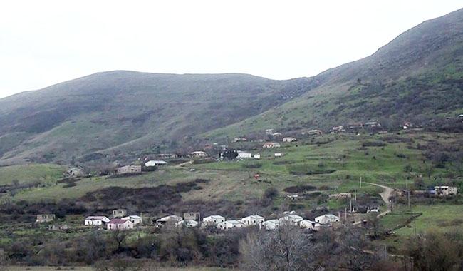 Füzuli rayonunun Yuxarı Güzlək kəndi