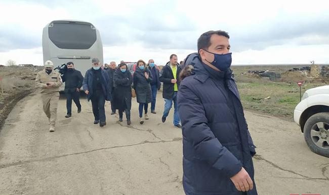 Ağdam - Jurnalistlərin səfəri