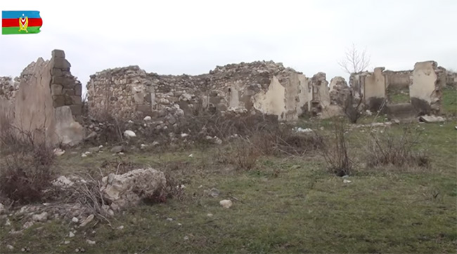 Qubadlı rayonunun Çardaqlı kəndi