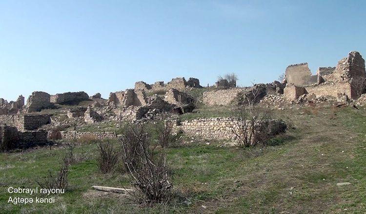 Cəbrayıl rayonunun Ağtəpə kəndi