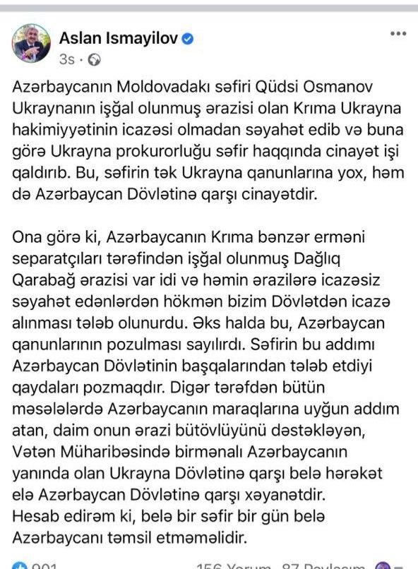 Səfir üzərindən Azərbaycana qarşı kampaniyanı kim təşkil edir - erməni izi...