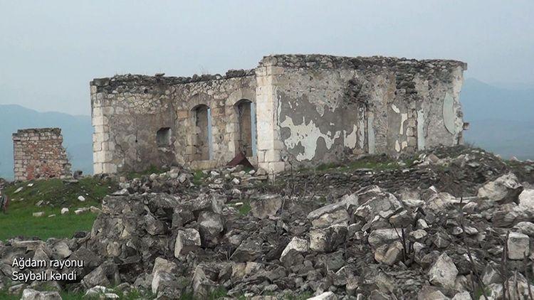Ağdam rayonunun Saybalı kəndi