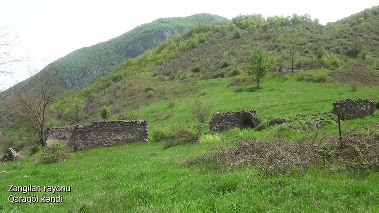 Zəngilan rayonunun Qaragöl kəndi