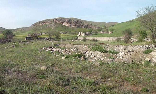 Cəbrayıl rayonunun Şahvələdli kəndi