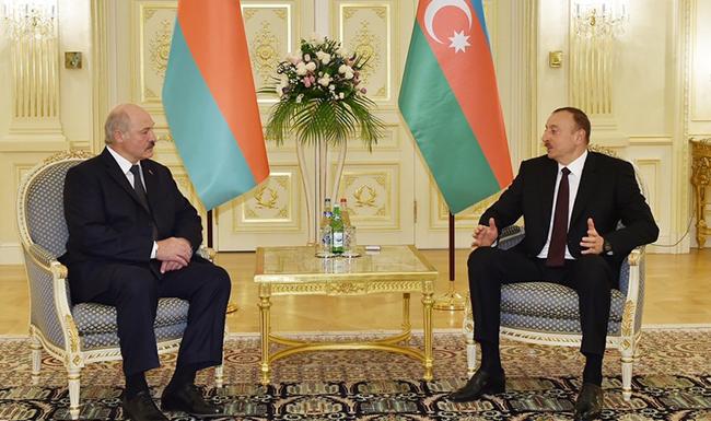 Ilham Əliyev - Lukaşenko