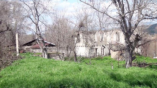 Qubadlı rayonunun Dondarlı kəndindən görüntülər – Video