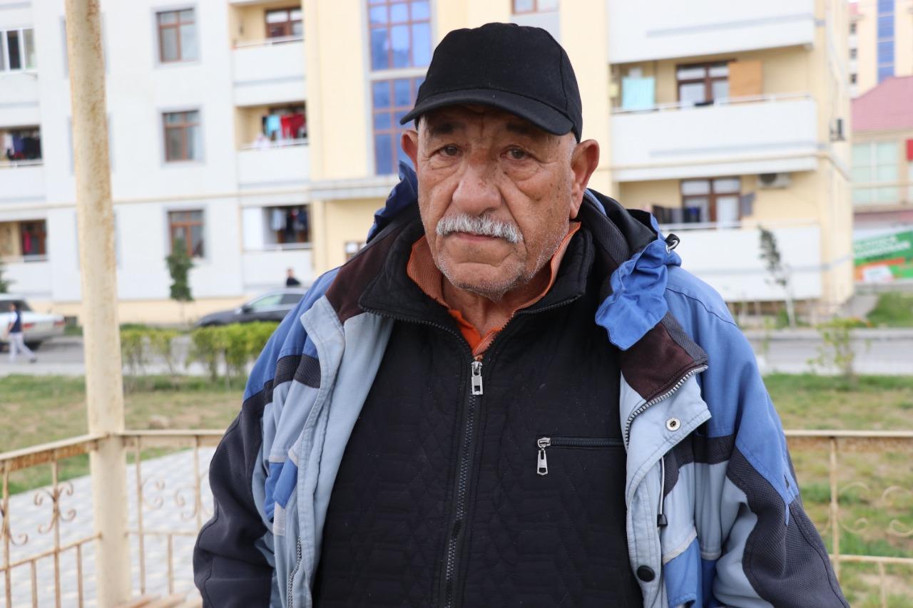 Məcburi köçkünlər Qarabağa qayıtmaqlarından danışdılar - Video, Fotolar