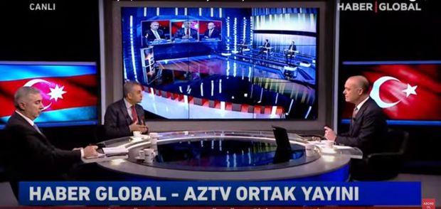 """AzTV və """"Haber Global""""ın ortaq efirində Baydenin qondarma soyqırımı bəyanatı müzakirə olunur - Canlı"""