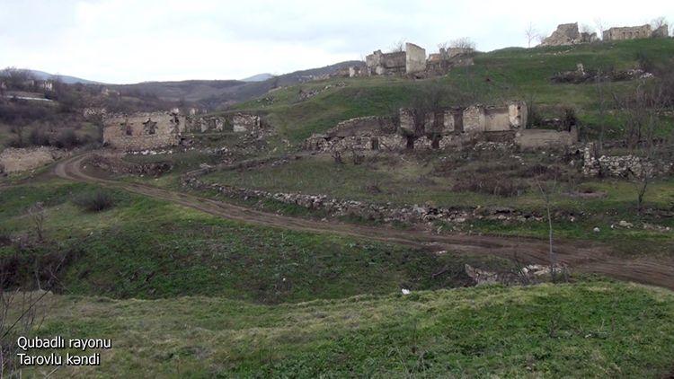 Qubadlı rayonunun Tarovlu kəndi