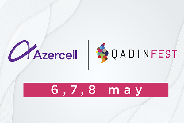 Qadinfest - Azercell 600x400