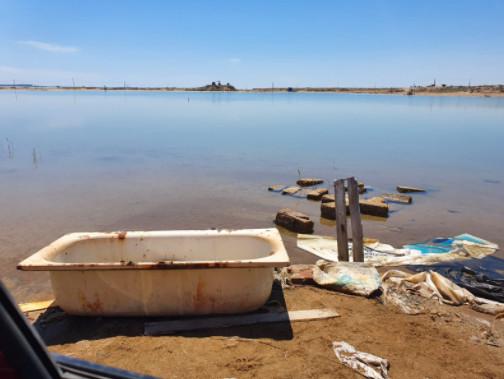 Keçmiş baş nazirin gölündə ölümcül... müalicə - Video, Fotolar