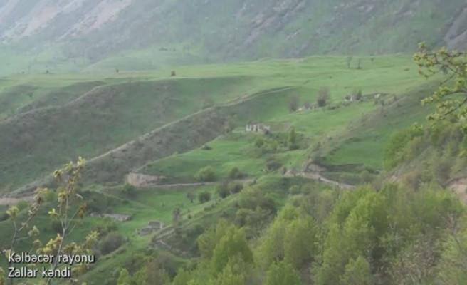 Kəlbəcər rayonunun Zallar kəndi