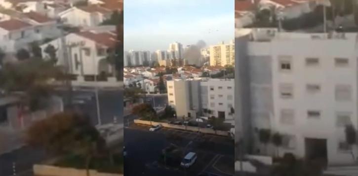 Qəzza zolağında gərginlik: İsrail HƏMAS-ın mövqelərinə cavab zərbələri endirir - Video