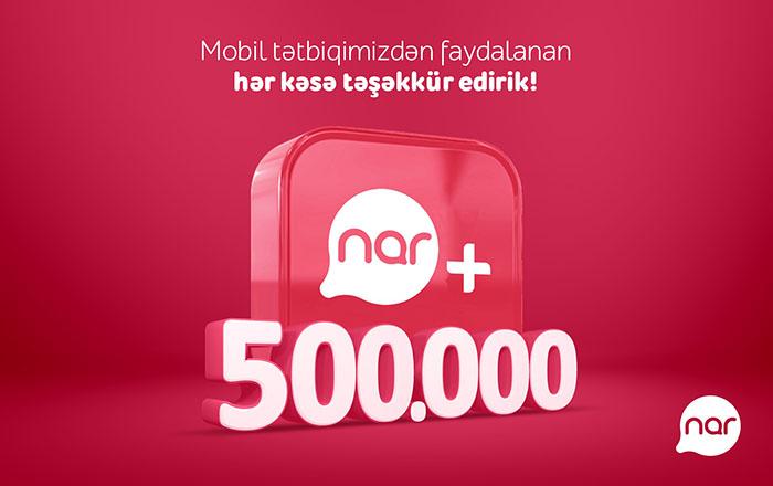 thanks message Nar+ 500K