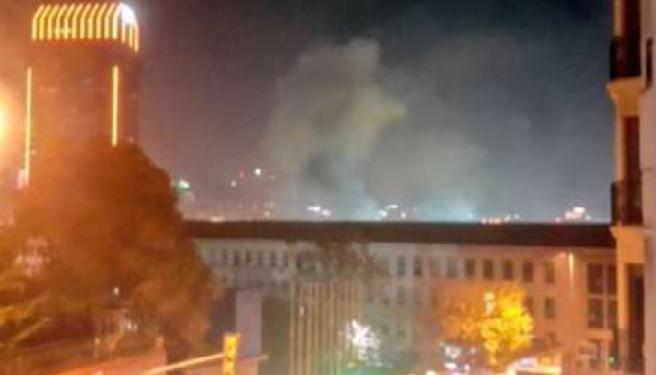 İstanbulun Pendik rayonunda güclü partlayış olub