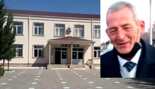Ucar rayonu Pirkənd kənd tam orta məktəbin direktoru Tapdıq İsayev