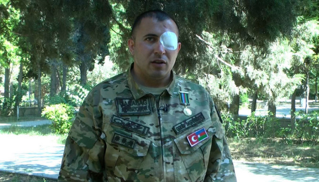 Vətən Müharibəsi qazisi Qədir Daşdəmirov