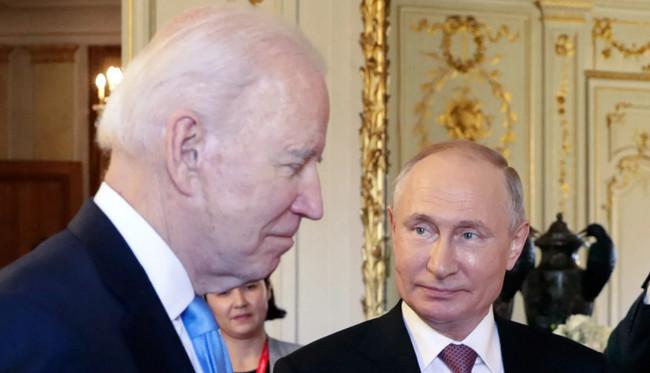 Co Bayden və Vladimir Putin