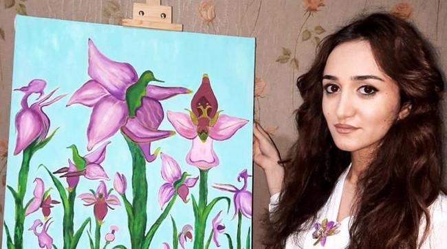 Rəssam Nigar İbrahimova