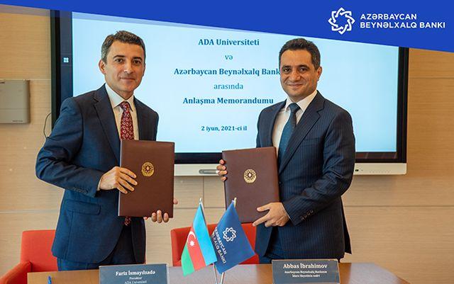 ADA Universiteti Azərbaycan Beynəlxalq Bankı ilə əməkdaşlığa başladı