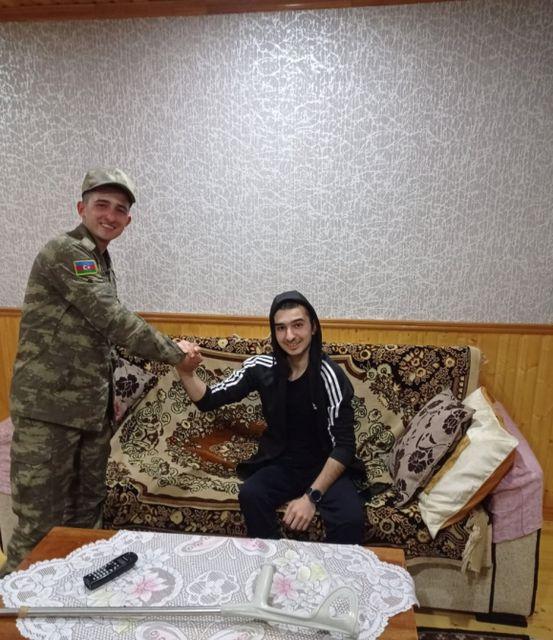 Azərbaycan Ordusunun əsgəri Əşrəf Rəhimzadə