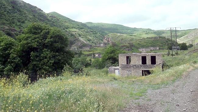 Laçın rayonunun Qalaça kəndi