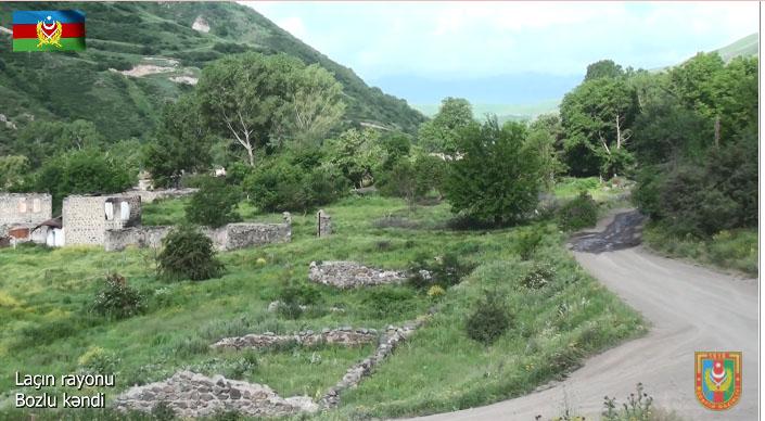 Laçın rayonunun Bozlu kəndi