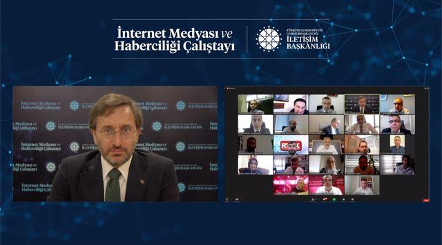 Türkiyə Prezident Administrasiyasının Kommunikasiya İdarəsinin rəhbəri Fəxrəddin Altun