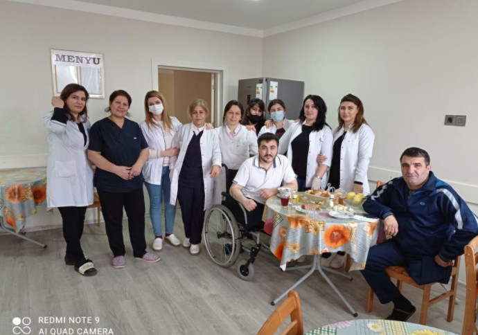 """""""Vətənə canım fəda"""" - İki ayağını itirən qazimiz - Fotolar"""
