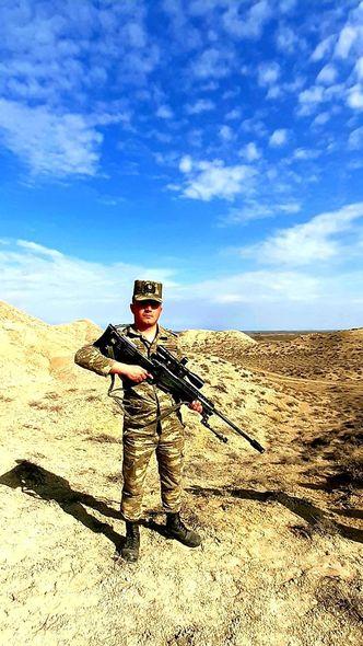 """Vətən müharibəsinin 26 yaşlı qazisi: """"Artıq protezlə rahat yeriyə bilirəm"""" - Foto"""