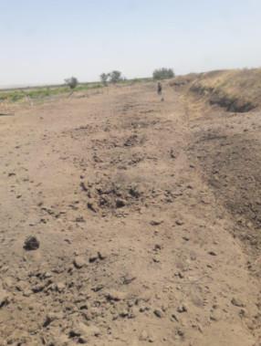 Fuzuli-Zengilan demiryolu xettinin Cebrayil rayonu erazisinden kecen hissesi - Video, Fotolar