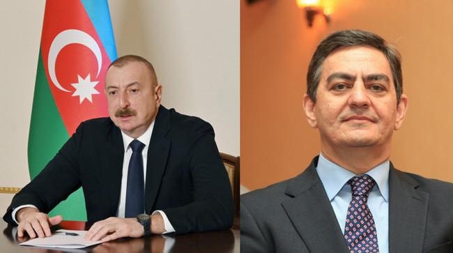 İlham Əliyev və Əli Kərimli