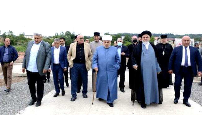 Allahşükür Paşazadə və Ocaqnejad Şuşada