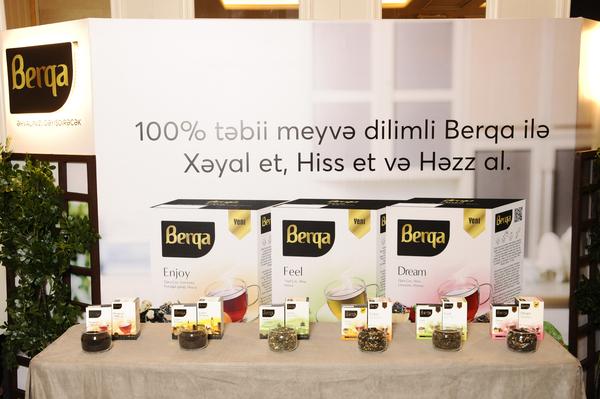 """""""Berqa"""" – ilin ən yaxşı çay markası mükafatını qazandı"""