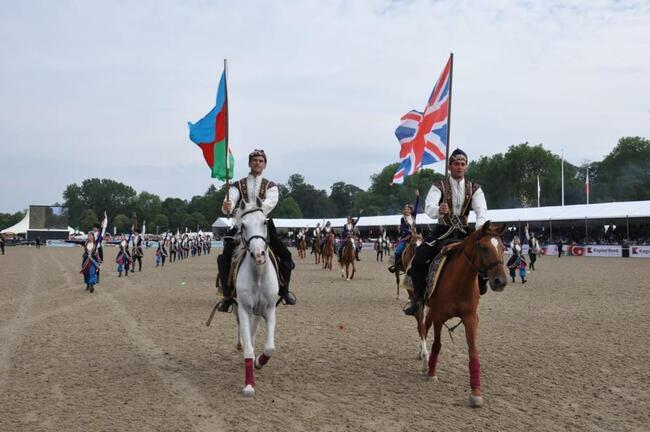 DSX Süvari dəstəsinin təqdimatında Qarabağ atları (4)