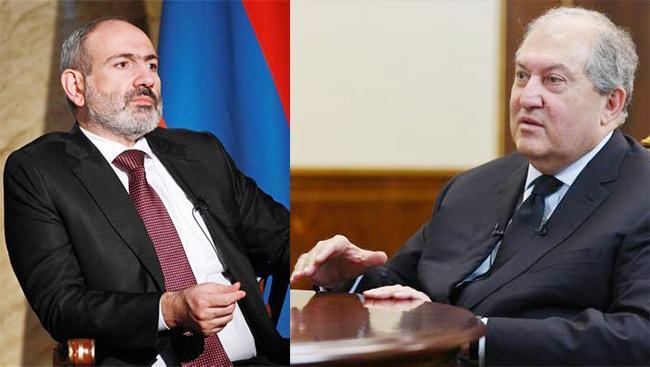 Paşinyan - Sarkisyan
