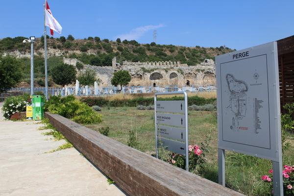 Qədim Perge şəhəri