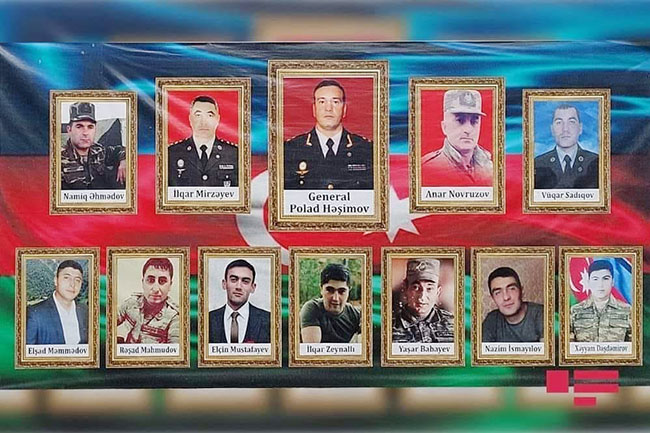 Polad Həşimov və Tovuzda şəhid olanlar