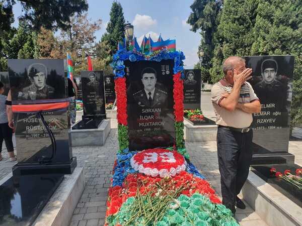 Qarabağ şəhidi Sərxan Muxtarov