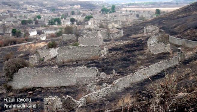 Füzuli rayonunun Pirəhmədli kəndi